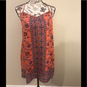 Angie strappy dress size Small